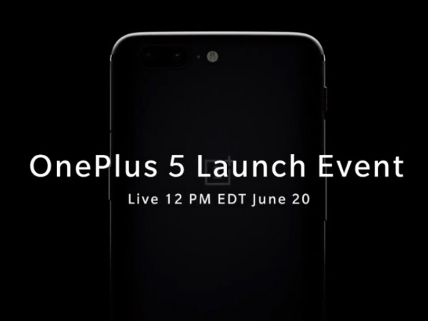 OnePlus 5 is launching today Watch the live stream from here
