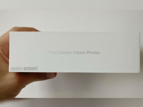 OnePlus 5 retail packaging confirms rear dual cameras