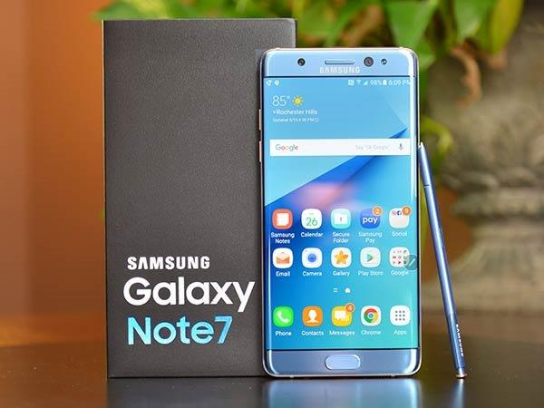Refurbished Samsung Galaxy Note 7 (Note FE) delayed until July end