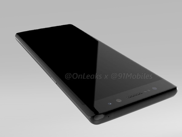 Samsung Galaxy Note 8 360-degree render video leaked: Shows the device in all its glory