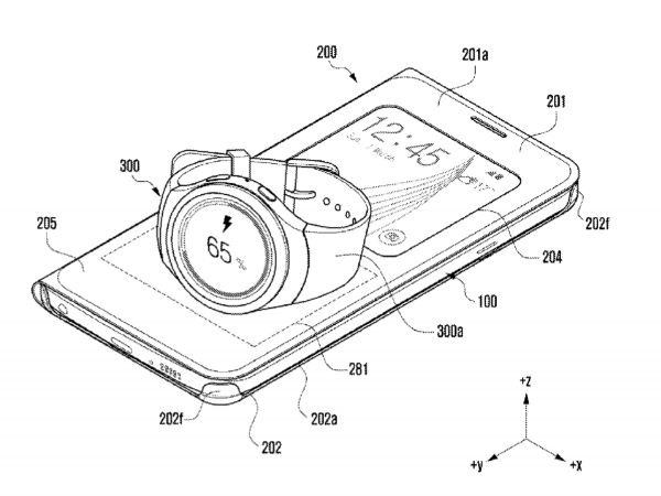 Samsung could be coming up with wireless charging cases