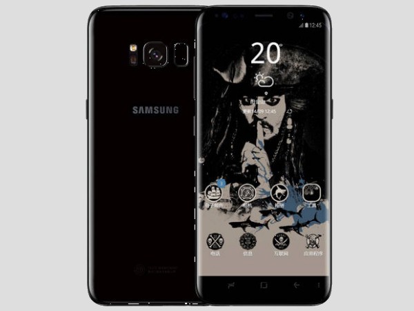 Samsung Galaxy S8 Pirates of the Caribbean edition launched