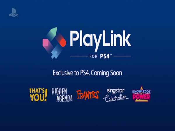 PlayLink gets you and your friends playing together, smartphones connected to PS4