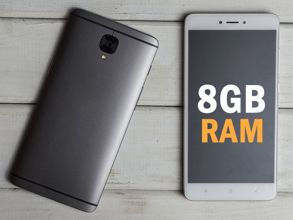Things that only smartphones with 8GB RAM can do