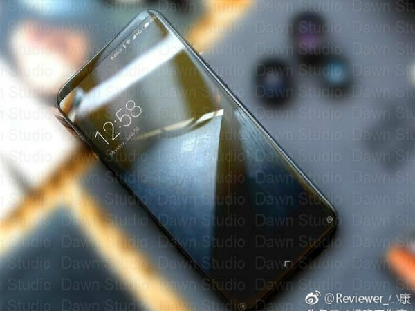 This could be Xiaomi Mi Note 3 or Mi Mix 2