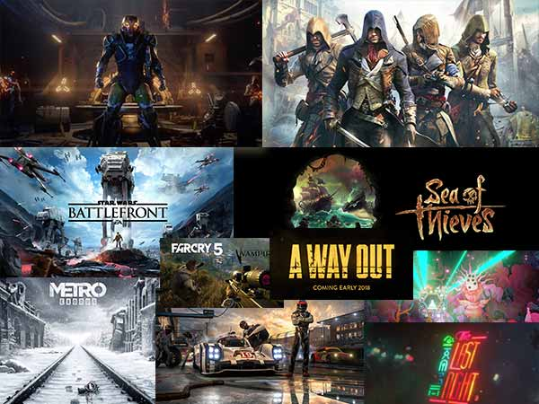 Top 10 Most Expected Games Launched in E3 Event