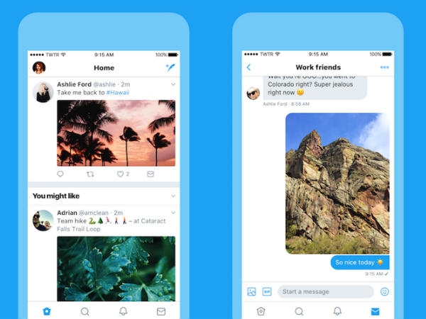 Twitter changes user interface to make the platform faster and lighter
