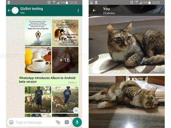 WhatsApp brings new Album feature for Android beta users