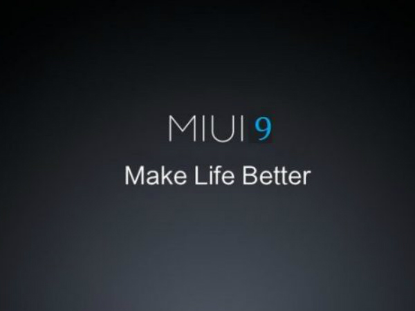 MIUI 9 to be unveiled soon?