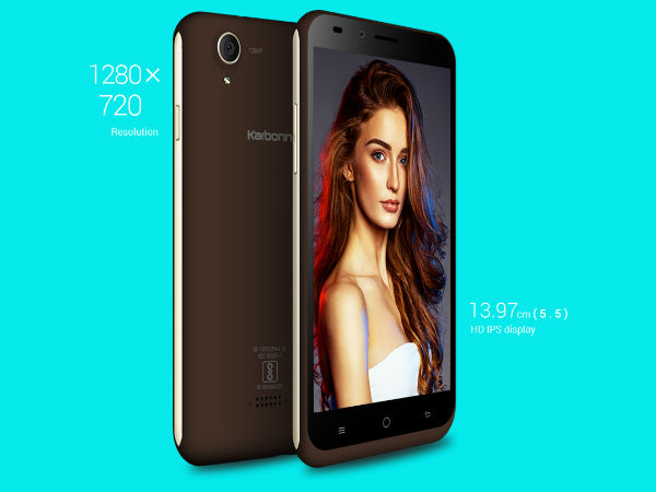 Karbonn Aura Note 2 launched at Rs. 6,490