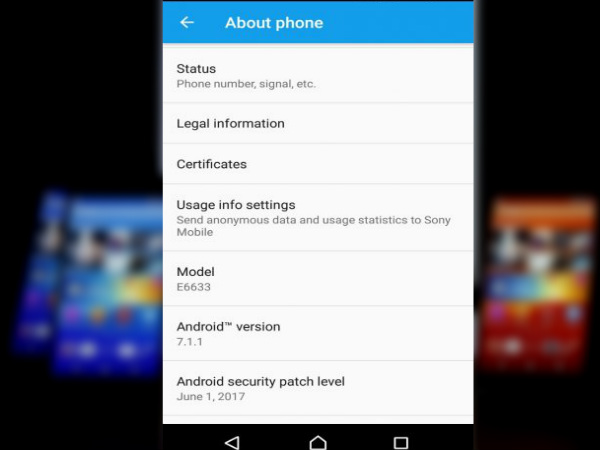 Android 7.1.1 Nougat rolling out for several Sony Xperia smartphones