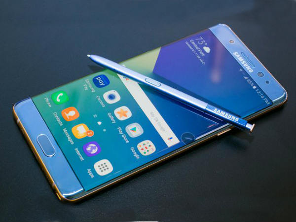 Samsung Galaxy Note 7R/Note FE is listed online for Rs. 40,600