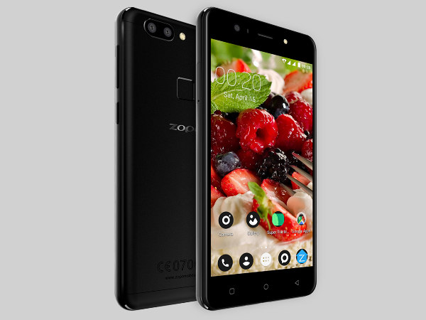 Zopo Speed X with dual cameras, Niki AI, 3GB RAM launched in India