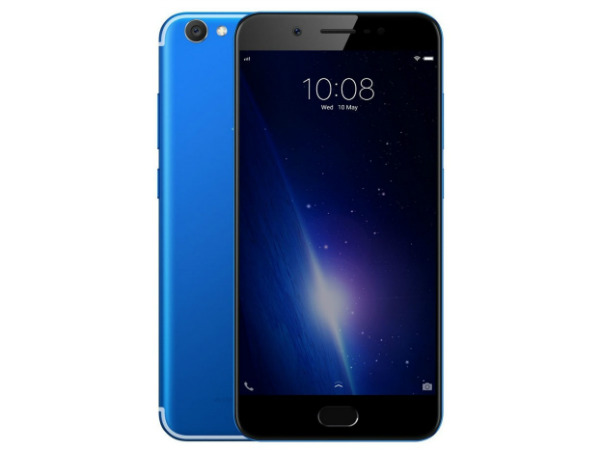 Vivo V5s blue paint