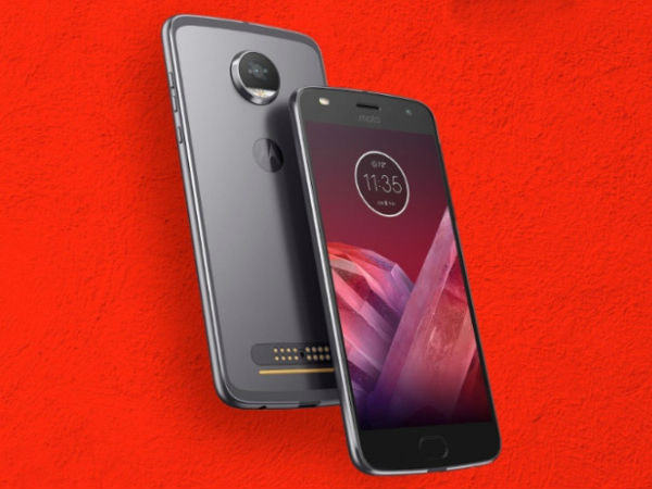 Motorola Moto Z2 Play (12MP rear camera)