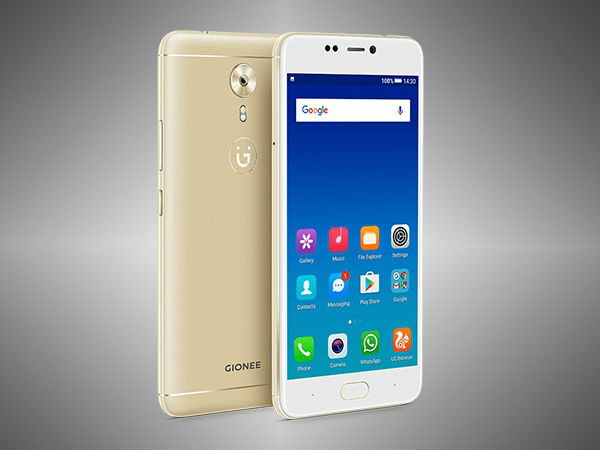 Gionee A1 (13MP rear camera and 16MP front camera)