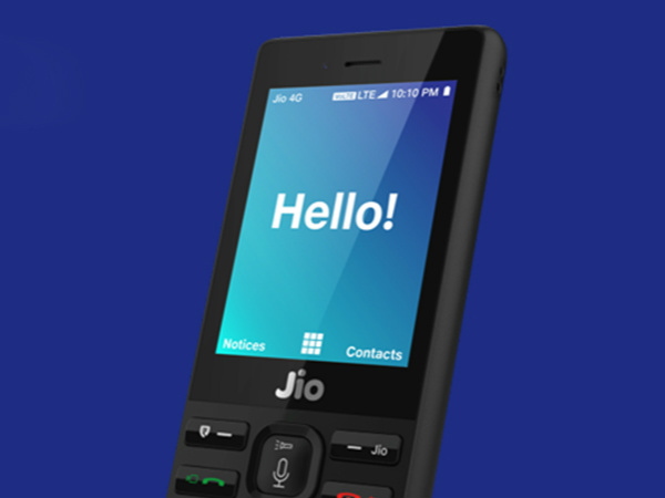 How to send emergency SOS messages from JioPhone?