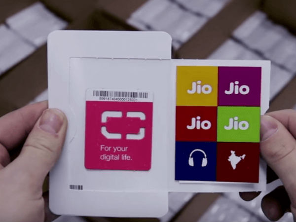 Reliance Jio offers new tariff plans