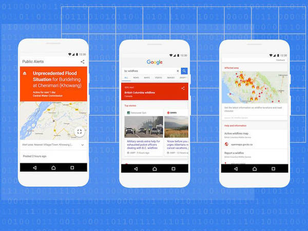 Google SOS Alerts Come to Maps and Search