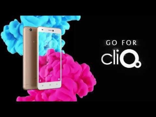 Celkon Cliq is a camera centric smartphone priced at Rs. 8,399 in India