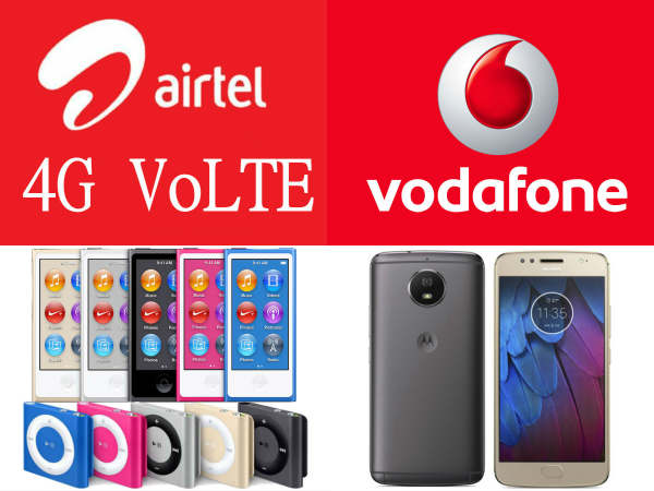 Trending News Today: Airtel VoLTE, Vivo V5 Plus price cut, Vodafone 70GB 4G, iPod nano, Sony XZ1