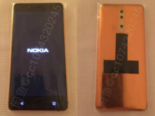 Alleged Nokia 8 price tag and live images in Copper are out