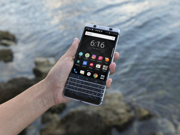 BlackBerry KEYone India launch pegged for August 1