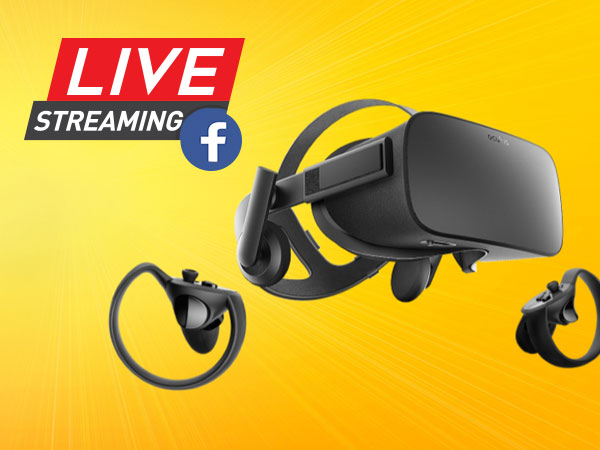 Facebook brings livestreaming to VR on Oculus Rift