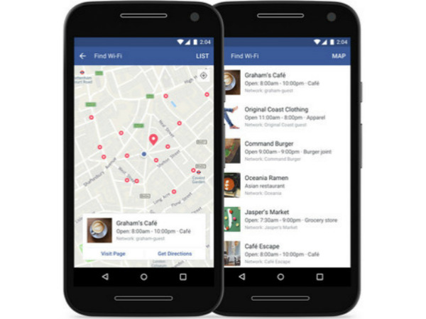 Facebook's Find Wi-Fi feature is now expanding globally