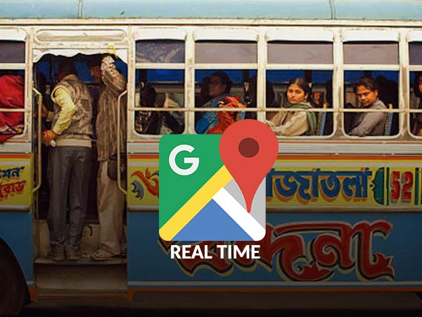 Google Maps provides real-time bus info in Kolkata