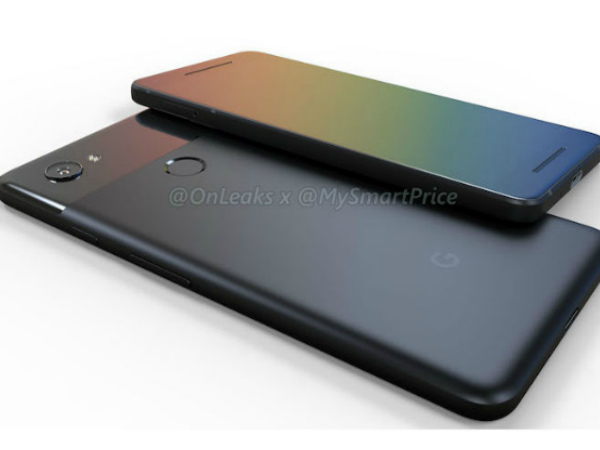 Google Pixel 2 and Pixel XL 2 render video shows possible design