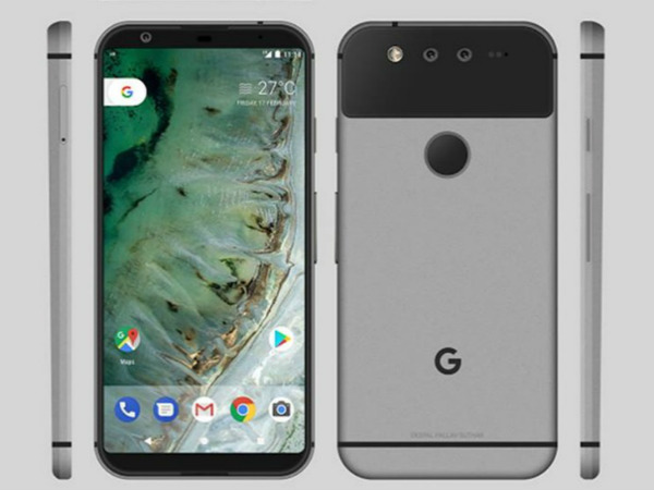 Google Pixel 2 renders and video leak again