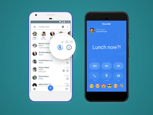 How to use Truecaller Flash Messaging on your iPhone or Android