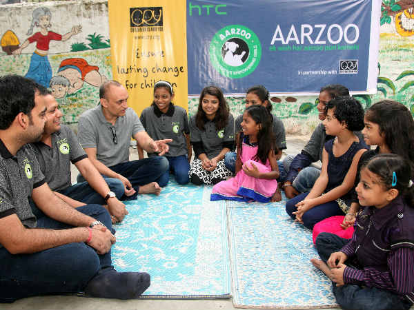 HTC launches an initiative for underprivileged young girls