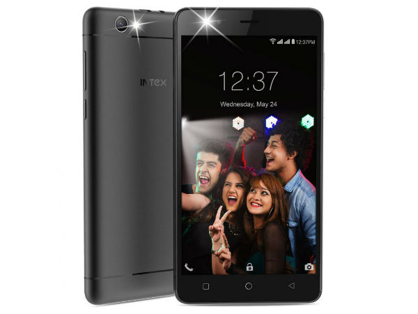 Intex launches Aqua Selfie with Android Nougat, 4G VoLTE at Rs. 6,649