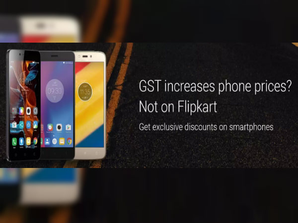 Post GST Flipkart announces price cut on several Lenovo smartphones