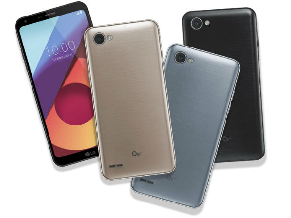LG Q6, Q6+ and Q6a announced; features Snapdragon 435, Android Nougat