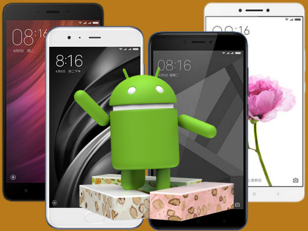 List of Xiaomi smartphones set to receive Android Nougat update