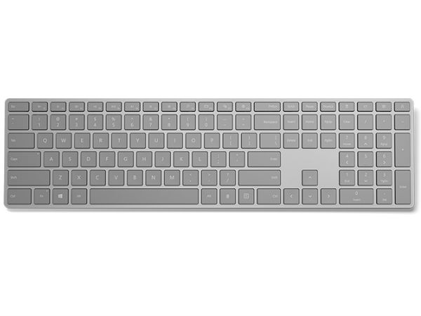 Microsoft launches 'Modern Keyboard' with fingerprint sensor