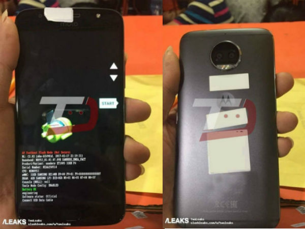 Moto G5S Plus photos hit the web; might be unveiled on July 25