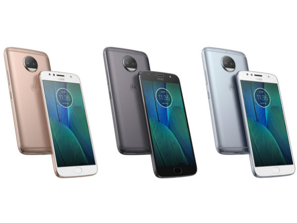 Motorola Moto G5S Plus in three different colors appears online
