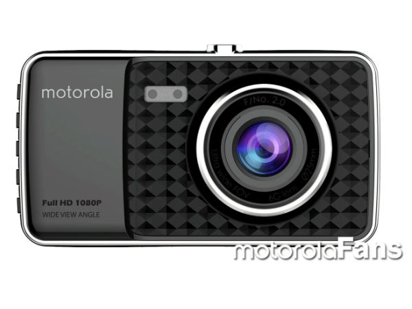 Motorola to launch a car camera capable of recording 1080p videos