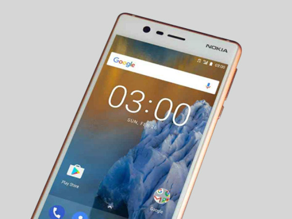 Nokia 3 to receive Android 7.1.1 Nougat update by August end