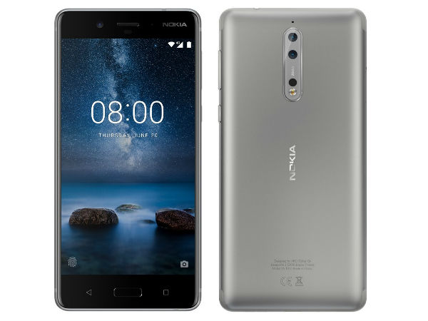 Nokia 8 render appears online again; this time in Silver color