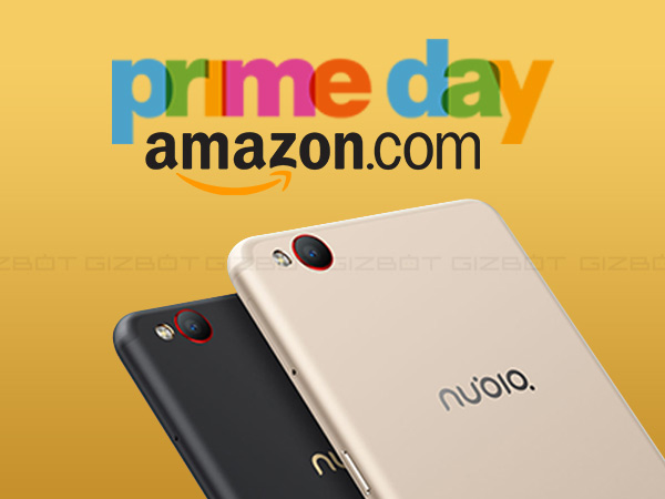15% cashback on all Nubia devices via Amazon Prime Day sale today
