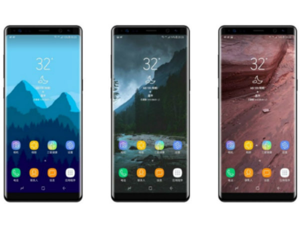 Purported Galaxy Note 8 renders surface online
