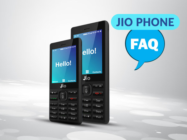 Reliance JioPhone FAQs: Get your doubts clarified here