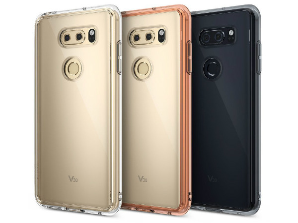 Renders of LG V30 with protective case shows the potential design