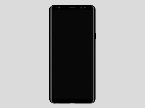 Online 8 Render Front Galaxy Gizbot Samsung - Note News Leaks