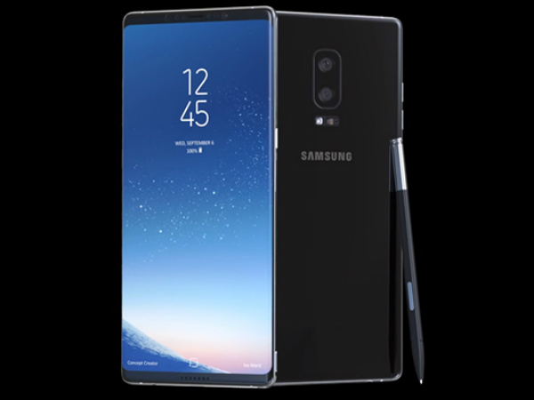 Samsung Galaxy Note8 press renders leaked again